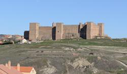 View from the road, before entering Siguenza
