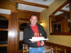 Yanni's surprise cake
