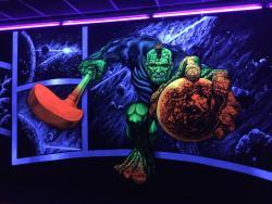 Simigo 3D-Schwarzlicht-Minigolf