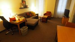 Living area in Room 113
