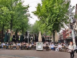 De Boekenmarkt op het Spui Amsterdam