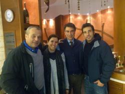 Insieme a Claudio Amendola ed Edoardo Leo