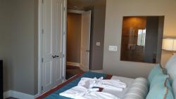View in Master bedroom