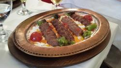 Nice Kebab plate.