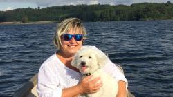 Carla e Charlie al lago