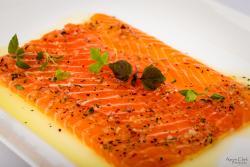 Salmon Carpacio