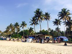 The beach - 2 minutes walking