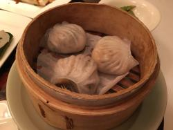 Delicious Chinese dim sum and desserts