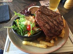 Outstanding Steak and Great Value