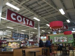 Costa Coffee at Tesco