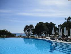 View from adult pool