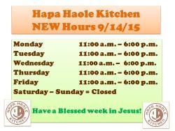 Hapa Haole Kitchen