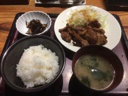 ランチ 本場博多の辛子明太子&からし高菜&ご飯食べ放題に満足!