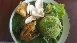 Ayam Goreng Cabai Hijau