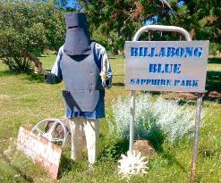 Billabong Blue Sapphire Fossicking Park