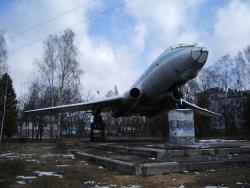 Самолет-памятник