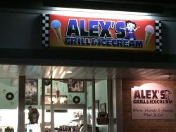 Alex's Grill & Ice Cream