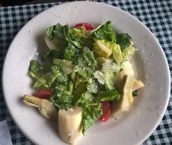 Camp Salad with Vinagarette dressing