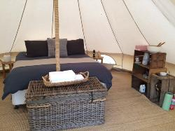 Glamping in style