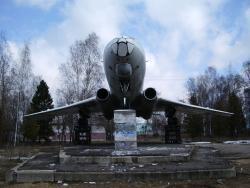 Памятник-самолет