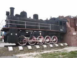 Monument Locomotive