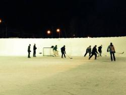 High Level Outdoor Ice Rink