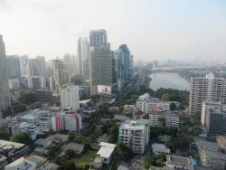 View from our Room at the Sheraton Grande Sukhumvit