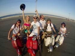 Retro Scooter Rentals in Kiev