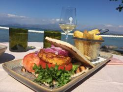 Lunch @ vecchio mulino beach !