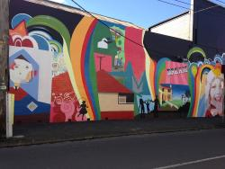 Mural by Adrian Doyle