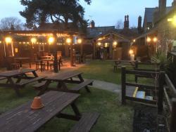 the best beer garden for miles