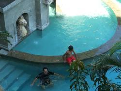 sanur pool and beach