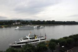 A great Hotel in a lovely traditional German town overlooking the Rhine
