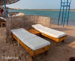 Beach at the Sheraton Miramar Resort El Gouna