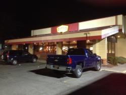 Denny's (Lockport) - front of restaurant