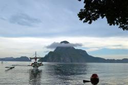 overlooking Cadlao Island