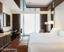 The Deluxe Room with Lake View at the JW Marriott Hotel Hanoi
