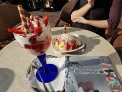 Eis-Cafe Cappuccino Mühldorf