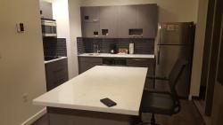 Kitchen in the king bedroom suite.