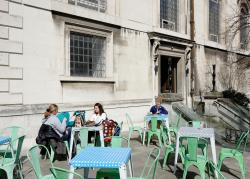 Wren Cafe - Outside Seating Area