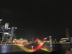 Awesome night time at Marina Bay Sand