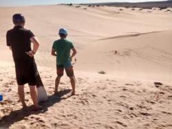 Kalbarri Sandboarding