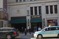 Unassuming Hotel Entrance