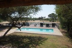 View of the pool and waterhole