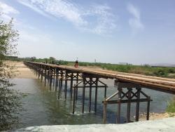 八幡流れ橋