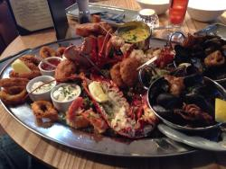 Seafood platter for two, £59