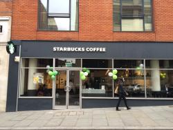 Starbucks Coffee - Cowcross Place, London