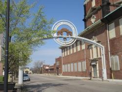 Union Stockyard Gate
