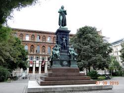 Statue of Johann Christoph Friedrich von Schiller
