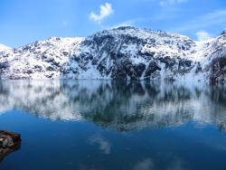 A view of Tsomgo lake